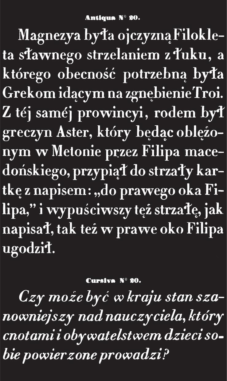 Giserzy czcionek w Polsce